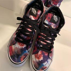 Vans Sk8 Hi Galaxy Rose Skate Shoe